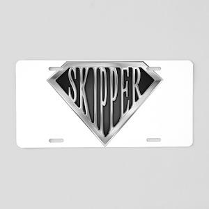 spr_skipper_chrm Aluminum License Plate