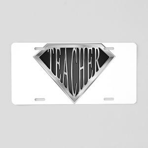 spr_teacher_cx Aluminum License Plate