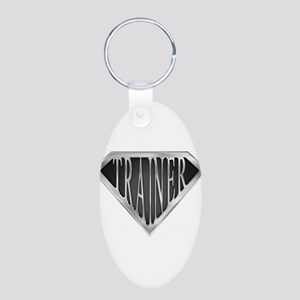 spr_trainer_cx Aluminum Oval Keychain