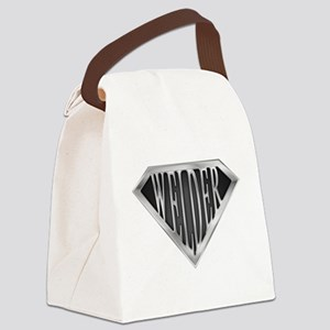 spr_welder_chrm Canvas Lunch Bag