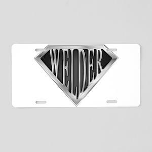 spr_welder_chrm Aluminum License Plate