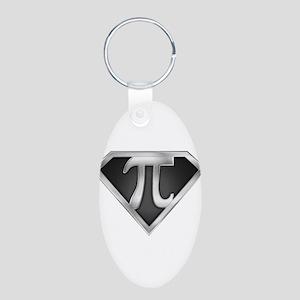 spr_pi_chrm Aluminum Oval Keychain