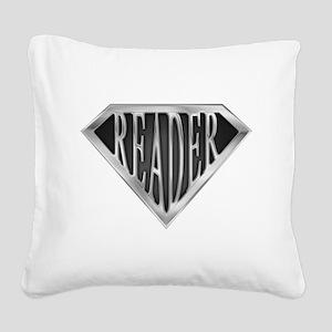 spr_reader_cx Square Canvas Pillow