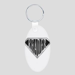 spr_reader_cx Aluminum Oval Keychain