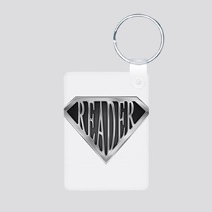spr_reader_cx Aluminum Photo Keychain