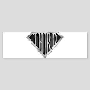 spr_third_chrm Sticker (Bumper)