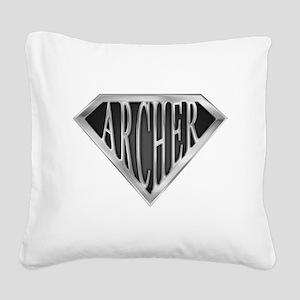 spr_archer_chrm Square Canvas Pillow
