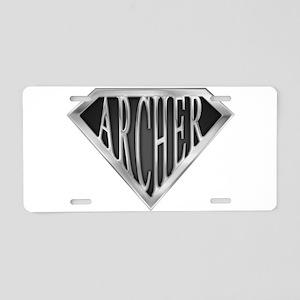 spr_archer_chrm Aluminum License Plate