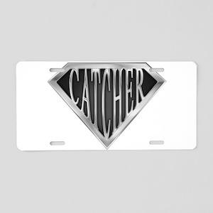 spr_catcher_chrm Aluminum License Plate