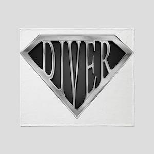 spr_diver_cx Throw Blanket