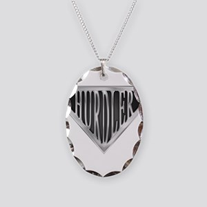 spr_hurdler_chrm Necklace Oval Charm