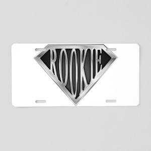 spr_rookie_chrm Aluminum License Plate