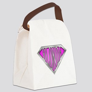 spr_blonde_pnk Canvas Lunch Bag