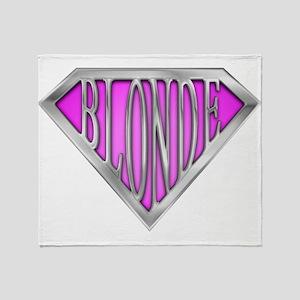 spr_blonde_pnk Throw Blanket