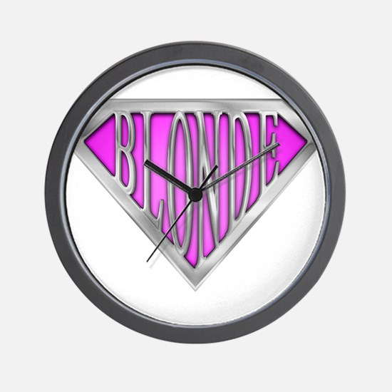 spr_blonde_pnk.png Wall Clock