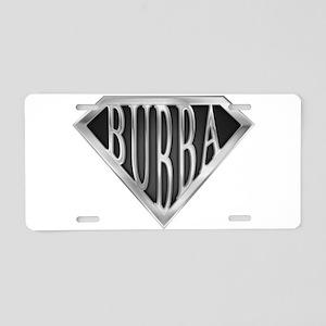 spr_bubba_chrm Aluminum License Plate