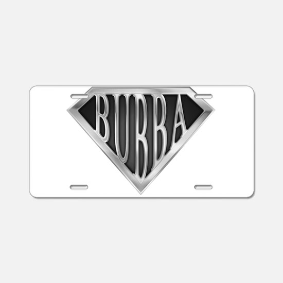 spr_bubba_chrm.png Aluminum License Plate