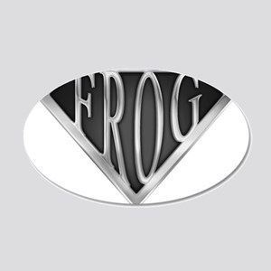 spr_frog_chrm.png 20x12 Oval Wall Decal