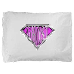 spr_ghost_pk Pillow Sham