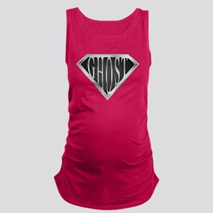 spr_ghost_chrm Maternity Tank Top