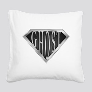 spr_ghost_chrm Square Canvas Pillow