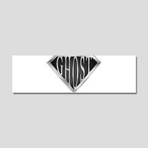 spr_ghost_chrm Car Magnet 10 x 3