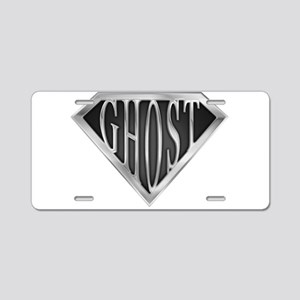 spr_ghost_chrm Aluminum License Plate
