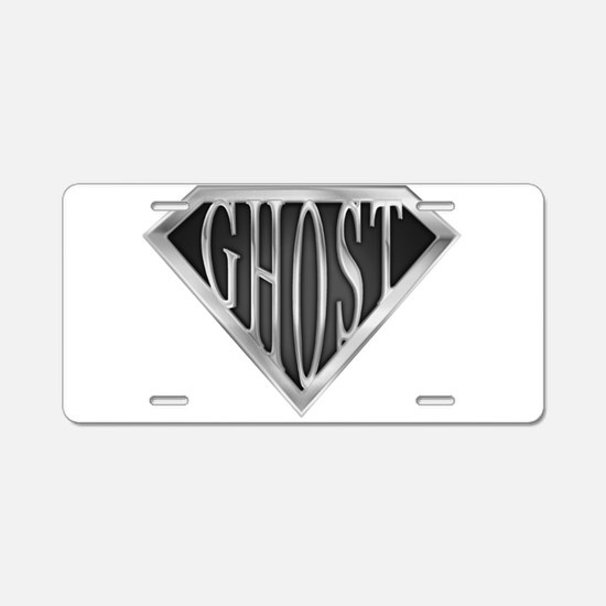 spr_ghost_chrm.png Aluminum License Plate