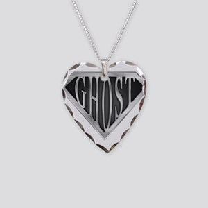 spr_ghost_chrm Necklace Heart Charm