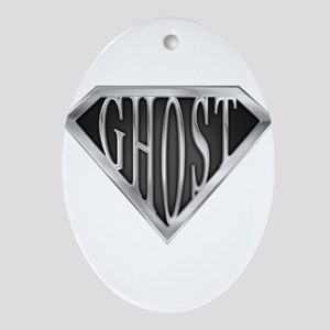 spr_ghost_chrm Oval Ornament