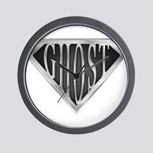 spr_ghost_chrm Wall Clock