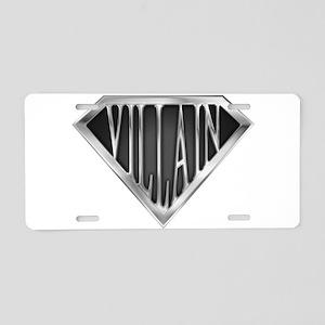spr_villain_chrm Aluminum License Plate