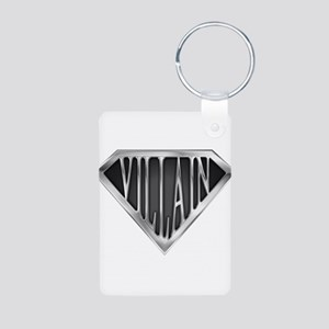 spr_villain_chrm Aluminum Photo Keychain