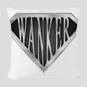 spr_wanker_chrm Woven Throw Pillow