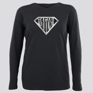 spr_witch2_chrm Plus Size Long Sleeve Tee