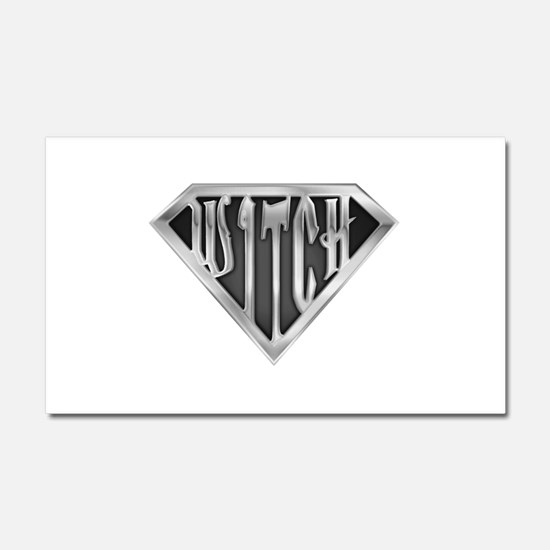 spr_witch2_chrm.png Car Magnet 20 x 12