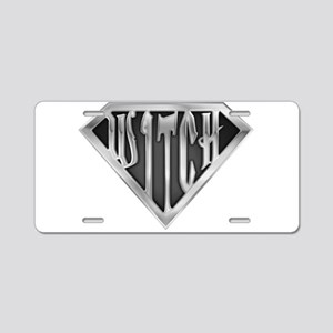 spr_witch2_chrm Aluminum License Plate