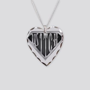 spr_witch2_chrm Necklace Heart Charm