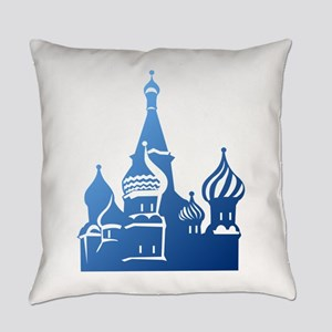Russian church symbol art Everyday Pillow