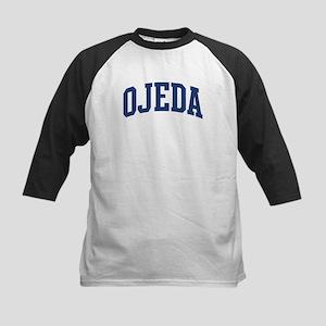 OJEDA design (blue) Kids Baseball Jersey