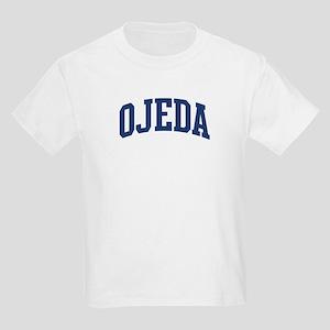 OJEDA design (blue) Kids Light T-Shirt