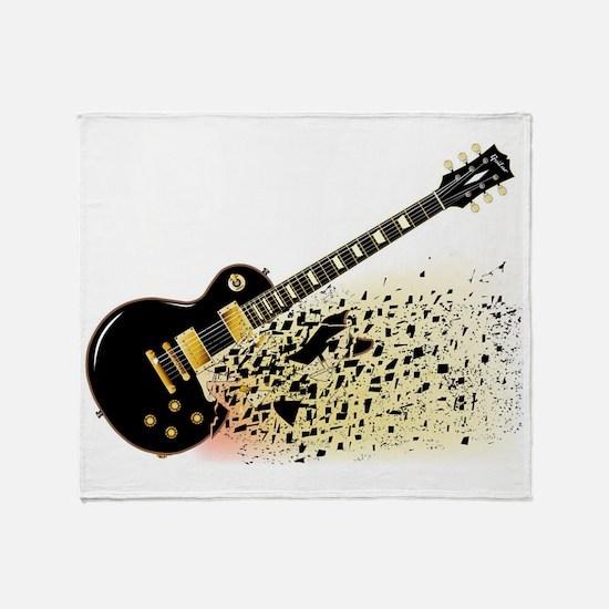 Cool Gibson guitar Throw Blanket