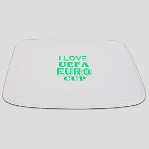 I Love Uefa Euro Cup Bathmat