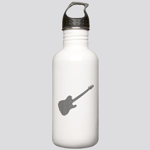 Black Dot Rock Guitar Stainless Water Bottle 1.0L