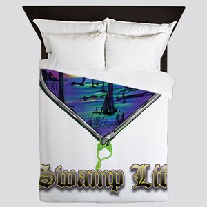 Swamp Life Queen Duvet