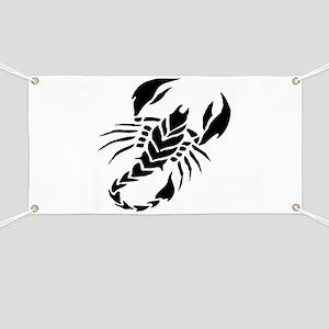 Scorpion Tattoo design art Banner