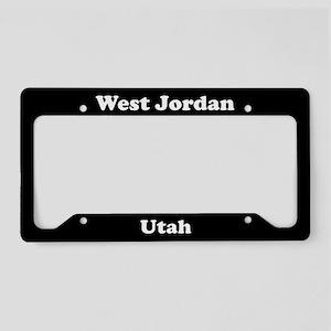 West Jordan UT License Plate Holder