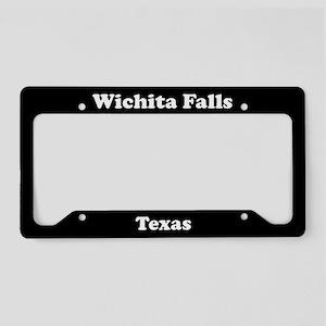 Wichita Falls TX License Plate Holder