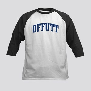OFFUTT design (blue) Kids Baseball Jersey