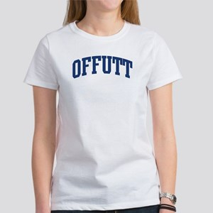 OFFUTT design (blue) Women's T-Shirt